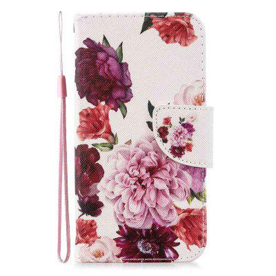 Cross Stitch Painting PU Phone Case for Samsung Galaxy Note 10