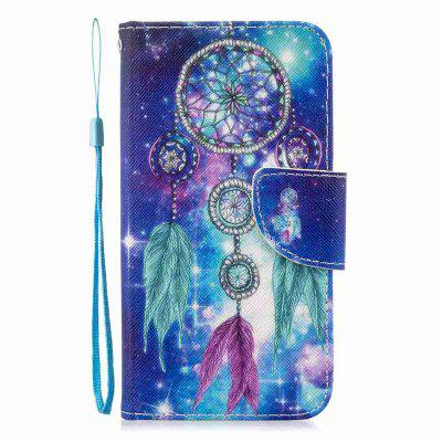 Cross Stitch Painting PU Phone Case for Xiaomi Redmi Note 8 Pro