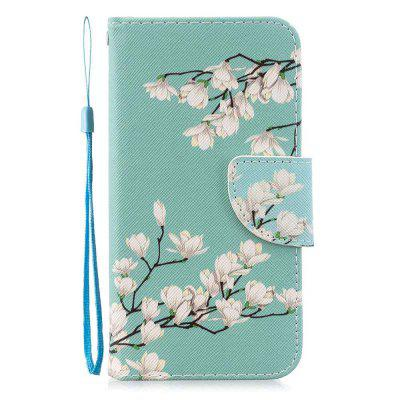 Cross Stitch Painting PU Phone Case for Samsung Galaxy Note 10 Plus