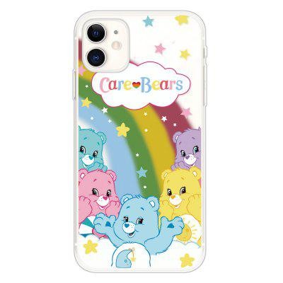 TPU grubym dnem Transparent Painted Phone Case for iPhone 11