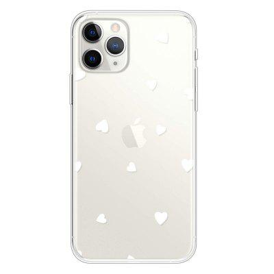TPU Thick Bottom Transparent Painted Phone Case for iPhone 11 Pro Max