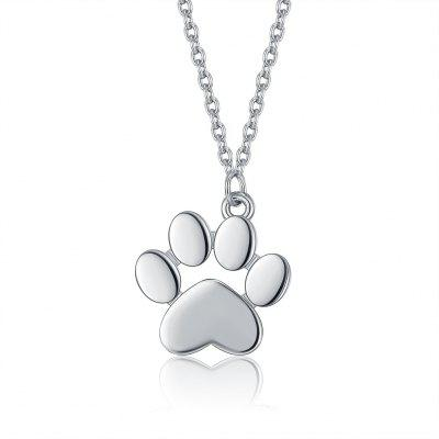 New Necklace with Cat PAWS and PAWS