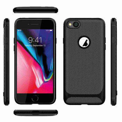 Carbon Fiber TPU effen kleur Phone Case voor iPhone iPhone 6 Plus / 6S Plus