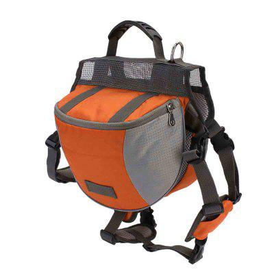 Saddle Dog agradável durável poliéster Pet Travel Bag Camping Caminhadas Backpack