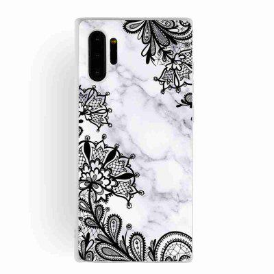 TPU matowe Marmur Malowane Phone Case do Samsung Galaxy Note 10 Pro