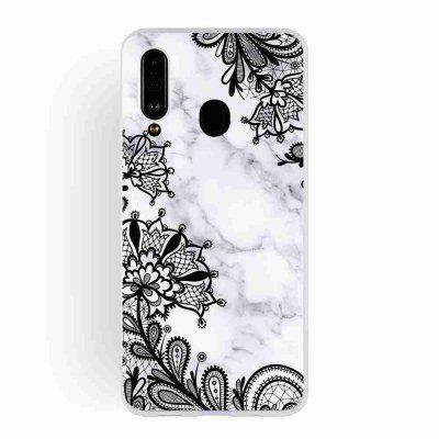 TPU matowe Marmur Malowane Phone Case do Samsung Galaxy A60 / M40
