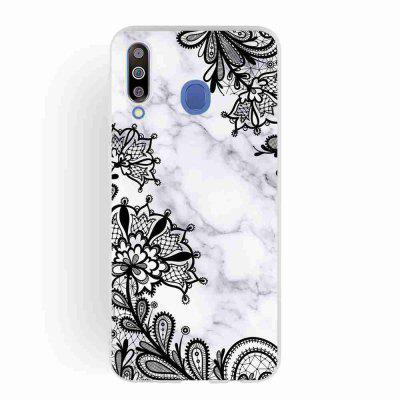 TPU matowe Marmur Malowane Phone Case do Samsung Galaxy M30