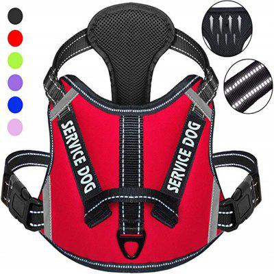 Large Medium and Small Dogs Anti-Cursor Dog Chest Strap Pet Training Vest