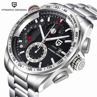 PAGANIDESIGN CX-2492C Men'S Multifunctional Waterproof Mechanical Watch
