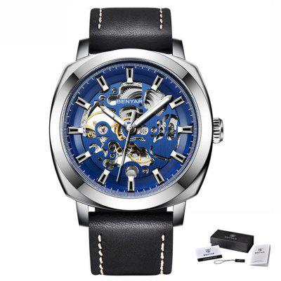 BENYAR 5121 Automatic Mechanical Watch Fashion Men Waterproof Belt Watch