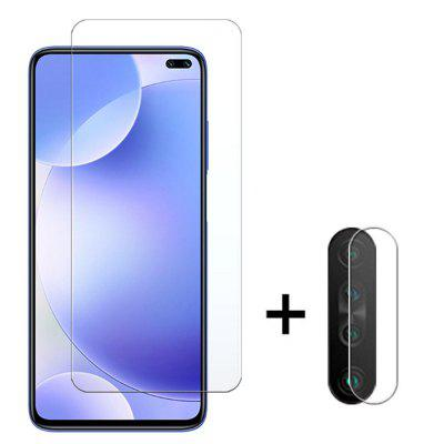 Glass Screen Protector + Lens Protective Film voor Xiaomi redmi K30