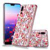 Embossed Varnish Diamond Pattern TPU Phone Case for Huawei P20 Pro - MULTI-B
