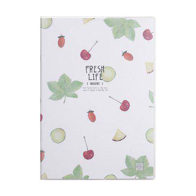 Comix CT3296-4 Fresh Life Series Planners and Notebooks 32K 96SHEETS 4PCS/SET
