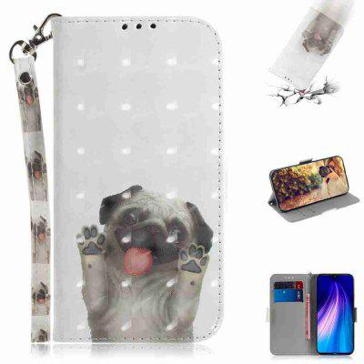 Multi-Pattern 3D Painted Phone Case for Xiaomi Redmi Note 8