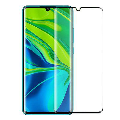 NORTHJO 3D Curved Tempered Glass Film for Xiaomi Mi Note 10-BLACK