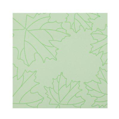 Comix D5102 Leaves Series Kawaii Sticky Notes 73x73mm