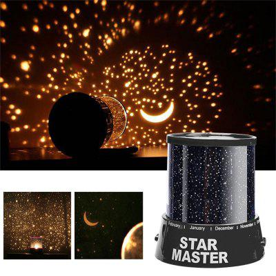 Durable Nice Portable Romantic Colorful Starry Sky LED Night Light