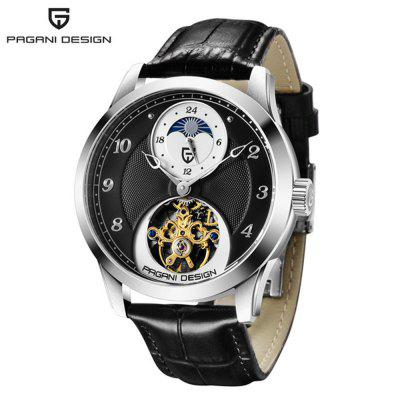 PAGANIDESIGN PD-1650 High-End Mechanische horloges Tourbillon Sports Watch