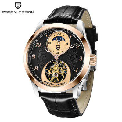 PAGANIDESIGN PD-1650 High-End Mechanical Watch Tourbillon Sports Watch