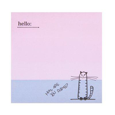 Comix D5101 Animal Series Sticky Note 73x73MM