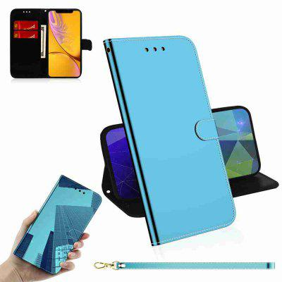 Pure Color Like A Mirror Phone Case voor iPhone Xr