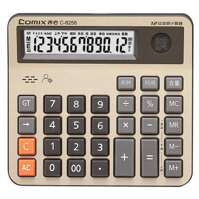 Comix C-8258 12 CIFRE Electronic Calculator Super Grad