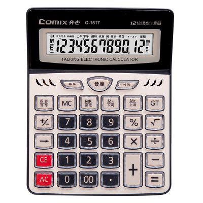 Comix C-1517 Office Supply Standard Function Desktop Electron Calculator 8 Digit