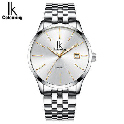 IK K006G Men'S Simple Business Full Automatic Waterproof Mechanical Watch