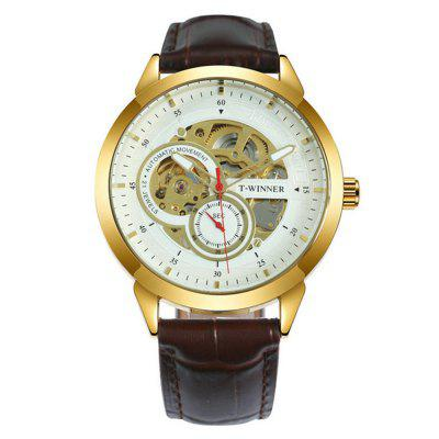 Winner TM897 Men'S Hollow Automatic Mechanical Watch
