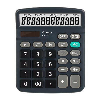 Comix C-837 Colorful Big Display Desktop Electronic Scientific Calculator