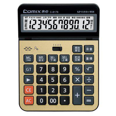 Comix C-8178 12-CIFRE mare display Calculator