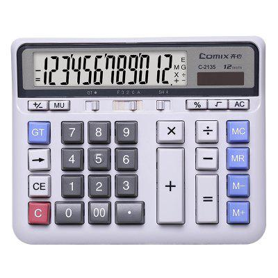 Comix C-2135 12-DIGIT Business Finance Office Electronic Calculator Desktop
