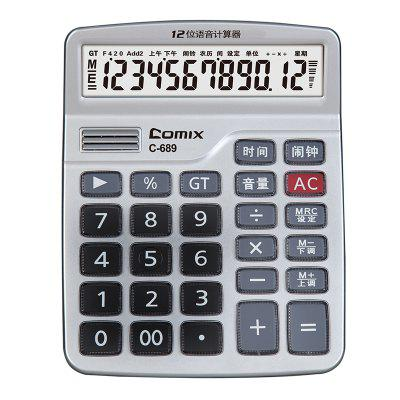 689 C-Calculator financiar Comix ridicata 12 Digits Calculator electronic