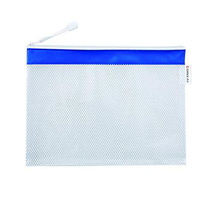 Comix A2056 PVC Mesh Zipper Bag A5