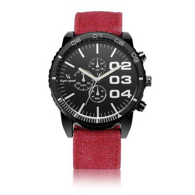 V6 V0234 Men'S Quartz Casual Sports Strap Watch