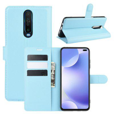 Card Protection PU Leather Phone Case voor Xiaomi redmi K30