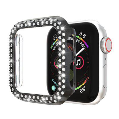 Luxe Bling Bekijk Case voor Apple Watch Series 5 4 3 2 1 Cover Protect Shell