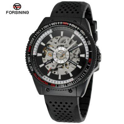 FORSINING FOR22 férfi divat alkalmi Hollow Sports Automatic Watch