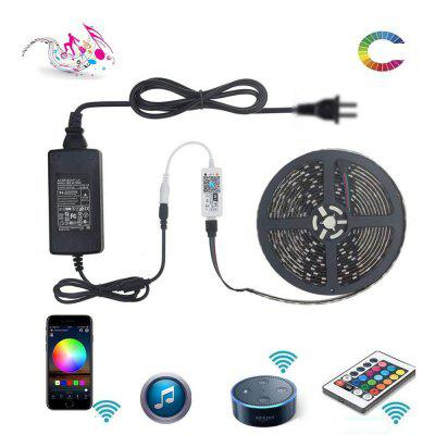 ZDM 300 LED WiFi Intelligent Remote Dimming 5M 5050 SMD RGB LED Streifen-Beleuchtung