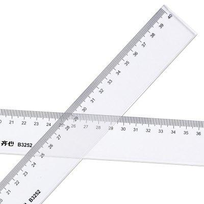 Komix B3252 Measure Ruler 40cm Transparent