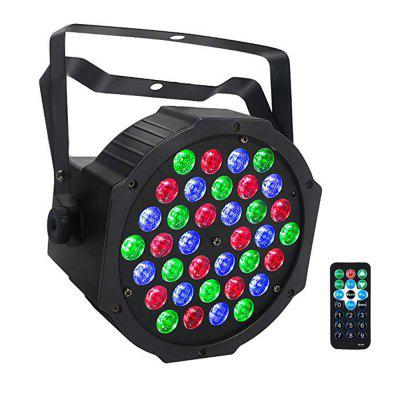 18W-36W RGB Par Light DMX Control for Wedding DJ Home Party Church Stage Light