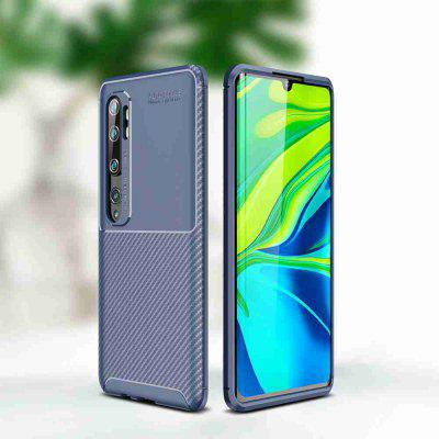 Beetle Carbon Fiber Solid Color Phone Case for Xiaomi Mi CC9 Pro / Redmi Note10