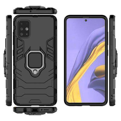 Ring Buckle Armor Phone Case for Samsung Galaxy A51