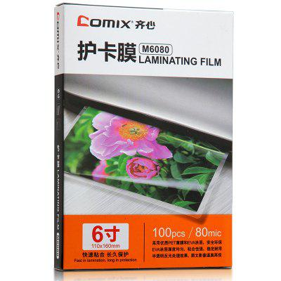 Comix M6080 High Digital Lamineerfilm 100sheets / SET