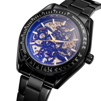 Winnaar Wn-07 Gear Dial Heren Mechanische horloges