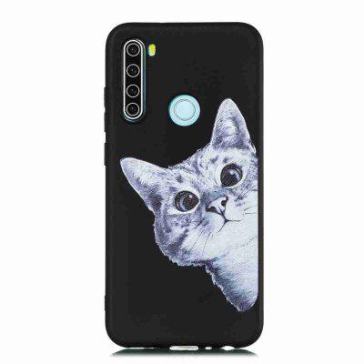 TPU Frosted Starry Sky Painted Phone Case for Xiaomi Redmi Note 8