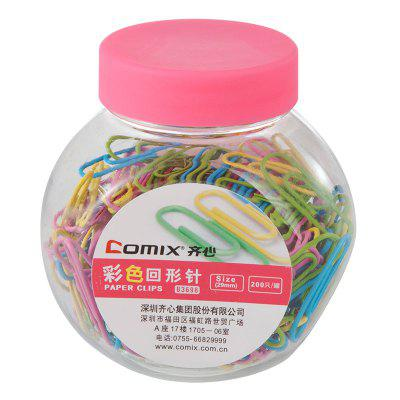 Comix B3698 Paper Clips 29MM 200PCS/BOX