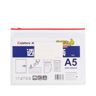 Comix F54 Zipper Bag A5 for Office