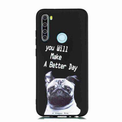 TPU Frosted Painted Phone Case for Xiaomi Redmi Note 8