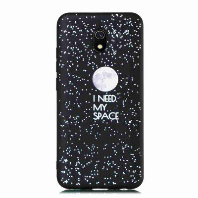 TPU Frosted Starry Sky Painted Phone Case for Xiaomi Redmi 8A